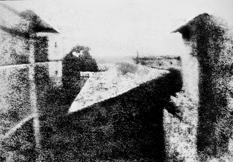 Foto von Joseph Nicéphore Niépce