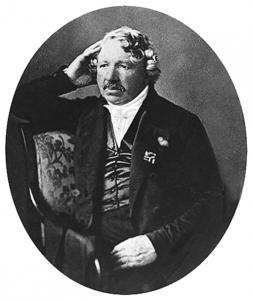 Porträt von Louis Jacques Mandé Daguerre