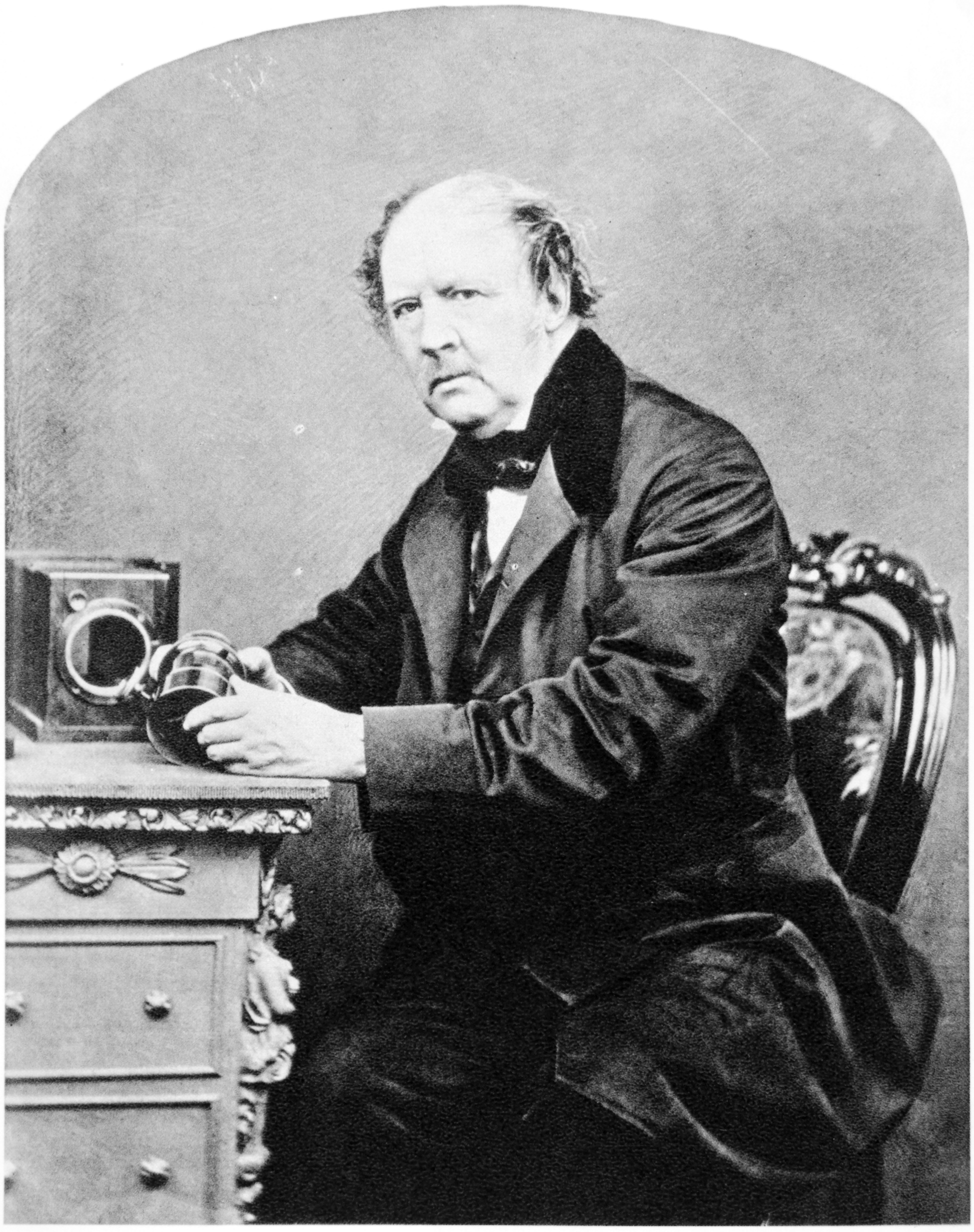 Portrait William Henry Fox Talbot