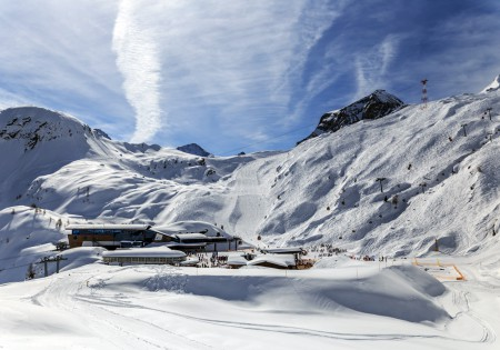 Landschaftsfotografie: Aufnahme Alpengipfel Kitzsteinhorn in Österreich