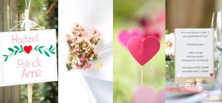 Hochzeitsfotografie: Details der Hochzeit von Anne und Patrick in Kandern