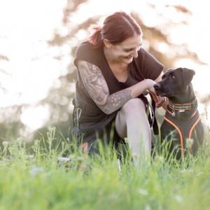 Hundefotoshooting in der Schweiz: Fränzi und ihre Ida
