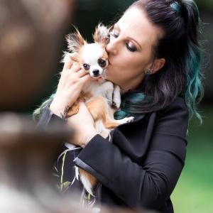 Tierfotografie in der Nordwestschweiz: Chihuahua Bambi und Vanessa im Wenkenpark