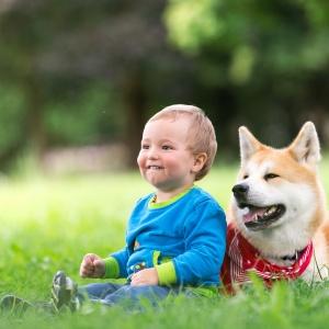 Kind- und Hund Fotoshooting in Lörrach