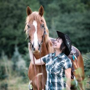 Pferd und Mensch Tierfotografie Schweiz