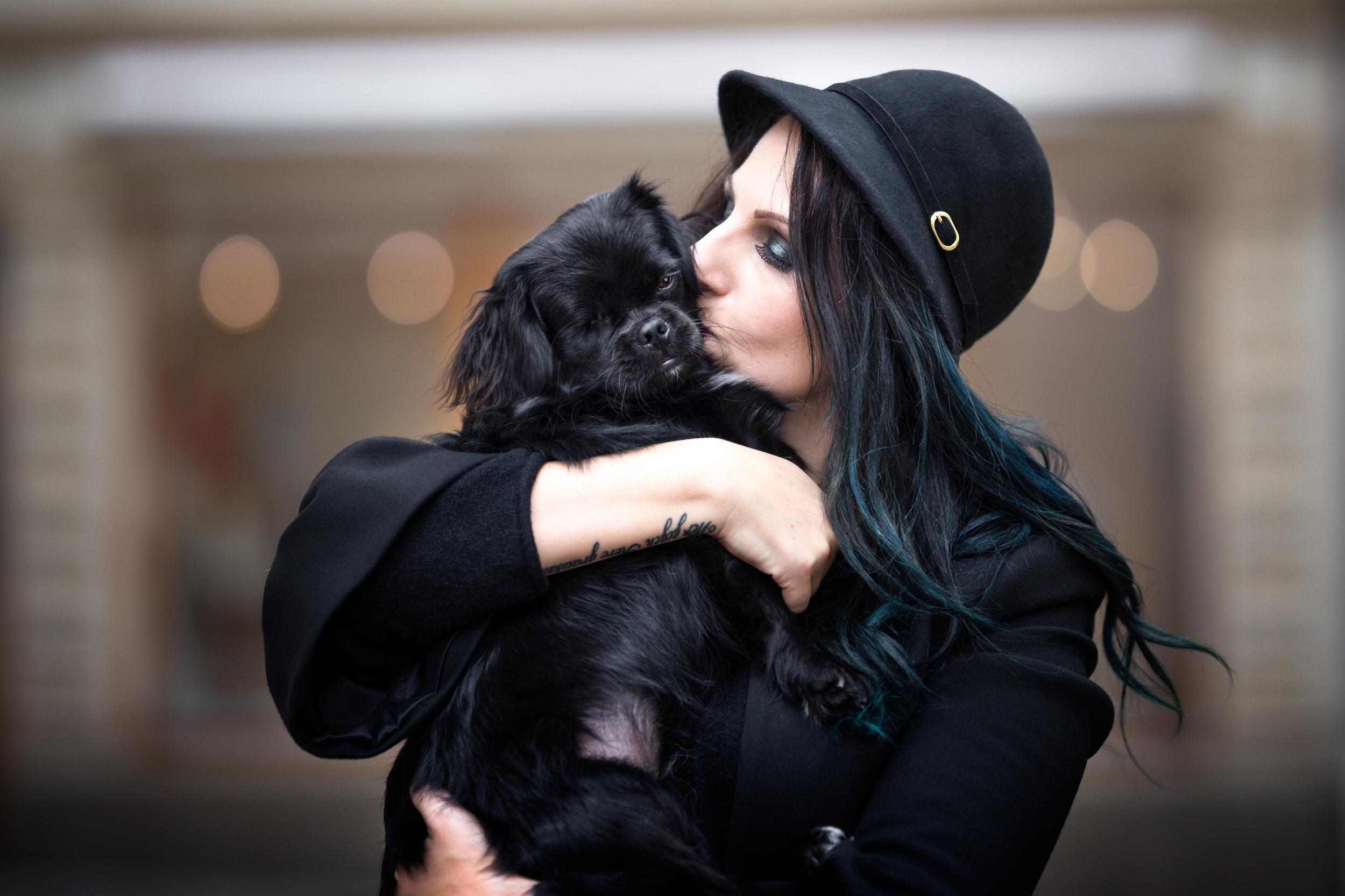 Liebe zwischen Mensch und Hund